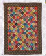 Floating colours Quilt Willyne Hammerstein