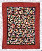 wall flowers Quilt Willyne Hammerstein