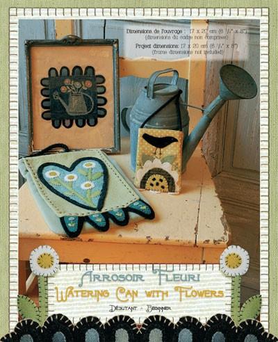 Heart to hand book - Kathi Campbell - arrosoir fleuri