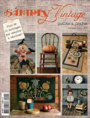 Simply Vintage Quilts & Crafts N°4