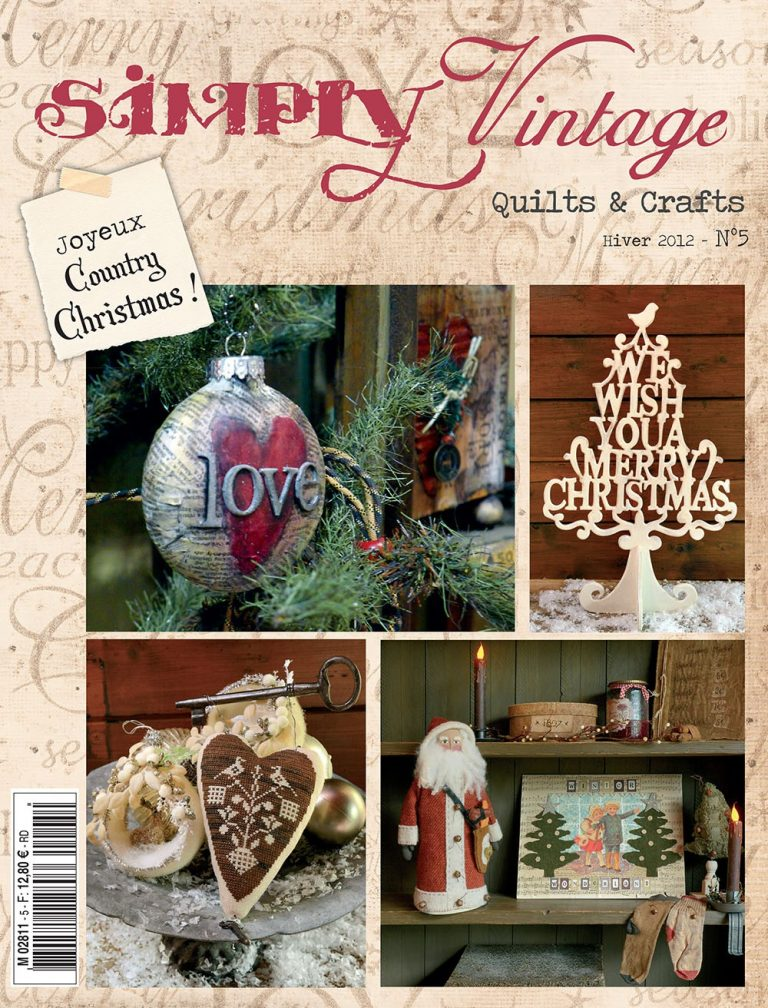 Simply Vintage Quilts & Crafts N°5