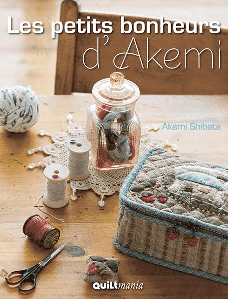 Couverture livre - cover book -Petits BonheursAkemi