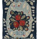 Quilts and Rugs – polly minick – laurie simpson – 1868 Rug