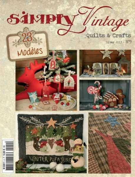 Simply Vintage Quilts & Crafts N°9