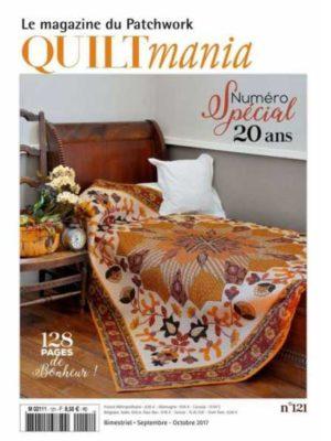 Quiltmania magazine n°121