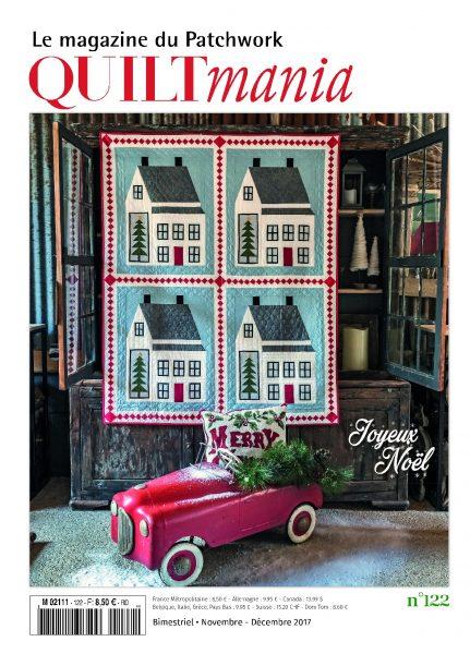 Magazine Quiltmania n°122