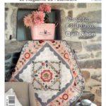 Couverture magazine quiltmania 125 – mai juin 2018