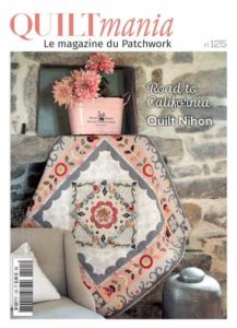 Couverture magazine quiltmania 125 - mai juin 2018