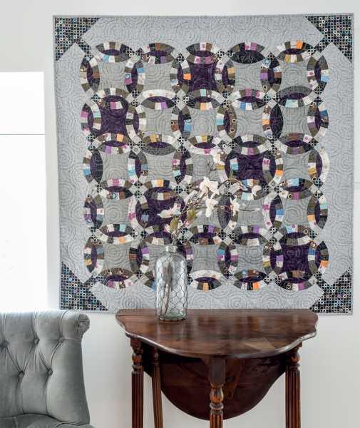 Mieke Duyck-Making Happy Quilts - modèle et patron quilt Crazy-Wedding