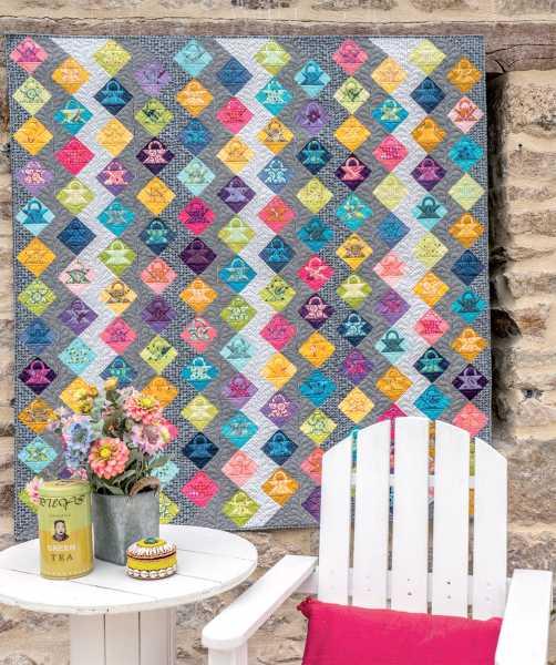 Mieke Duyck-Making Happy Quilts - modèle et patron quilt -Fashionista