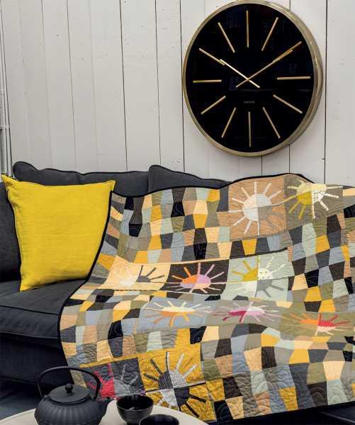 Mieke Duyck-Making Happy Quilts - modèle et patron quilt - Hello Sunshine