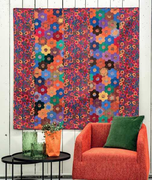 Mieke Duyck-Making Happy Quilts - modèle et patron quilt -Jolly