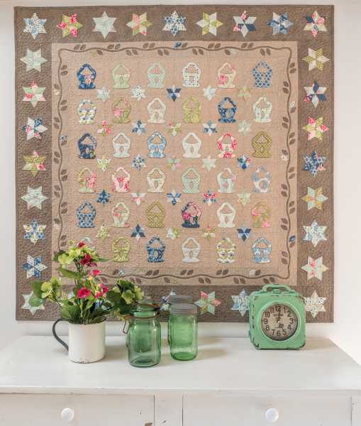 Mieke Duyck-Making Happy Quilts - modèle et patron quilt -Lilys Baskets