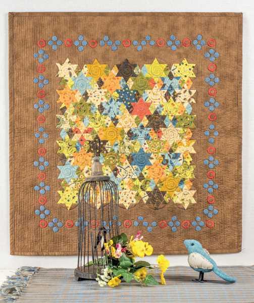 Mieke Duyck-Making Happy Quilts - modèle et patron quilt -Mini6 pointed