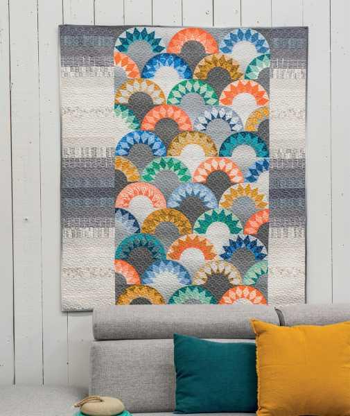 Mieke Duyck-Making Happy Quilts - modèle et patron quilt -Moderne Clam