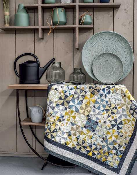 Mieke Duyck-Making Happy Quilts - modèle et patron quilt -Northsea