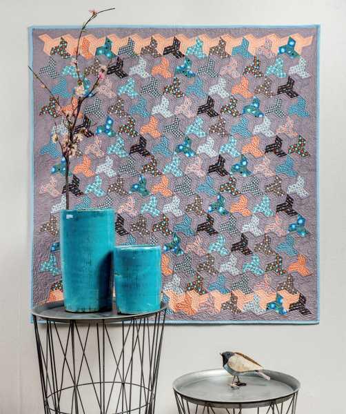Mieke Duyck-Making Happy Quilts - modèle et patron quilt -Peter Pan
