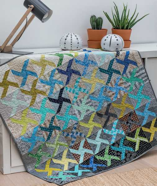 Mieke Duyck-Making Happy Quilts - modèle et patron quilt -Playing