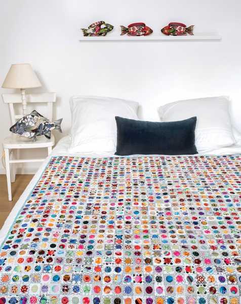 Mieke Duyck-Making Happy Quilts - modèle et patron quilt -Scrappy Coins
