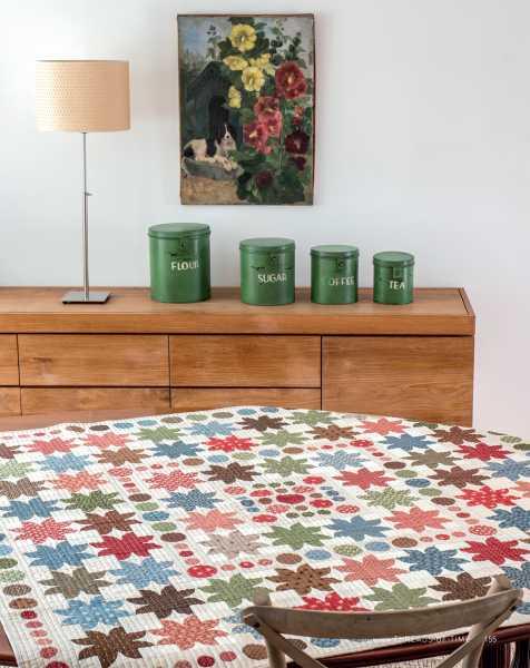 Mieke Duyck-Making Happy Quilts - modèle et patron quilt -Threads