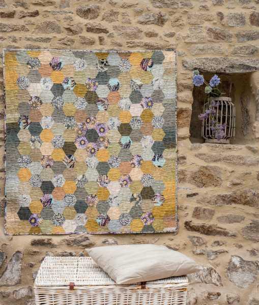 Mieke Duyck-Making Happy Quilts - modèle et patron quilt -Tuscan Tiles