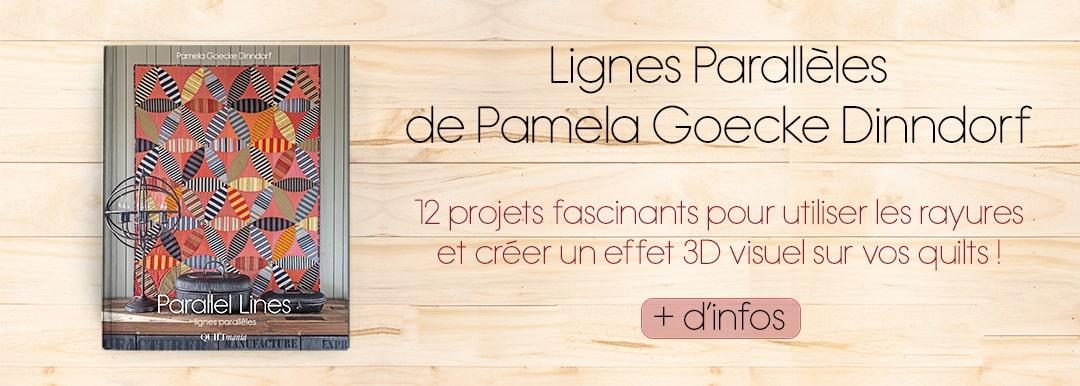 Parallel Lines - Lignes Parallèles par Pamela Goecke Dinndorf