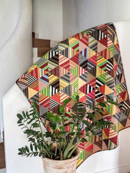 Pamela Goecke Dinndorf-Parallel Lines-modèle et patron quilt - Carnival