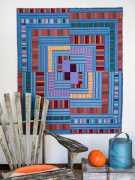 Pamela Goecke Dinndorf-Parallel Lines-modèle et patron quilt - Mercury