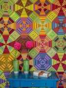 Pamela Goecke Dinndorf-Parallel Lines-modèle et patron quilt - Vertigo