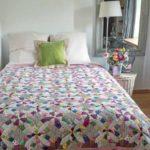 Quilt Happy Days – modèle pattern – Kinuyo Asano – magazine quiltmania 125