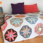 Quilt Venetian Stars – modèle pattern – Lee Chapel Monroe – Sharon Morris – magazine quiltmania 125