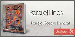 Web Banner Parallel Lines by Pamela Goeck Dinndorf-new book about Quilting by Quiltamania