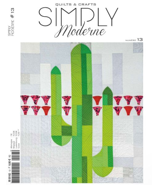 Image result for simply modern quilt magazine logo