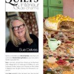 Sue Delves Quilt et intérieur de charme – Quiltmania magazine 129