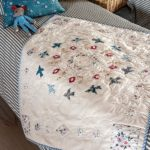 Susan-Smith-A Starling Murmuration Crib Quilt  modèle pattern
