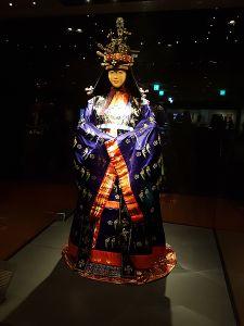 Hanbok traditionnel (Musée National du Palais de Corée)