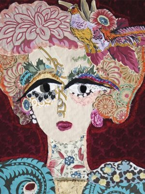 Katherine-Roumanoff-portraittextiletableau