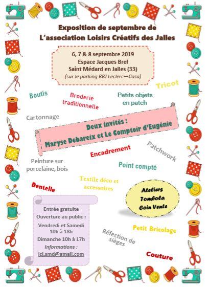 Exposition-annuelle-de-l'Association-Loisirs-Créatifs-des-Jalles