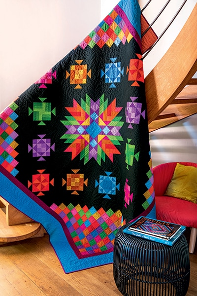 Amish-with-a-Twist-IV-par-Nancy-Rink-quilt-quiltmania-magazine-133-septembre-octobre-2019