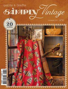 Couverture-FR-quilt-magazine-simply-vintage-numéro-32-automne-2019