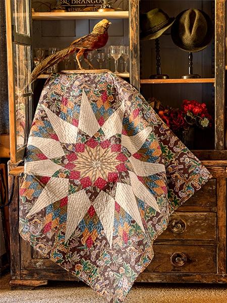 Karen-Styles-livre-Seams-Like-Yesterday-2019-Winter-Garden-quilt
