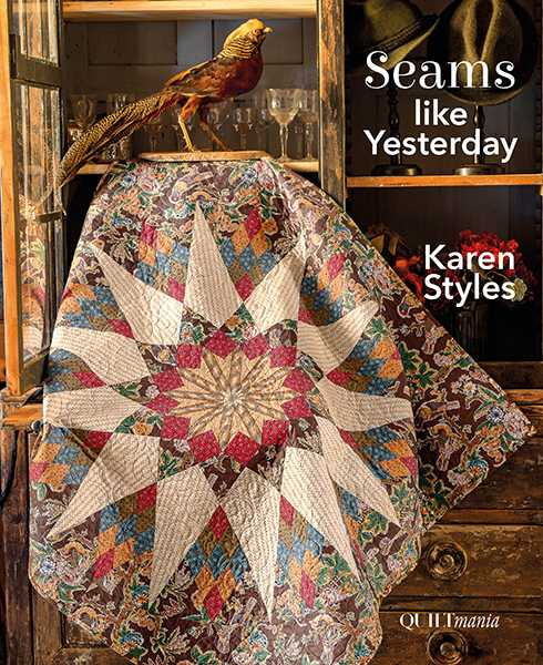 Karen-Styles-livre-Seams-Like-Yesterday-2019-quilt-couverture
