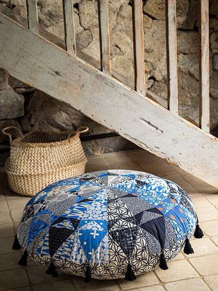 Mandala-floor-coussin-quilt-magazine-simply-moderne-numéro-18-automne-2019