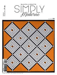 couverture-fr-quilt-magazine-simply-moderne-numéro-18-automne-2019