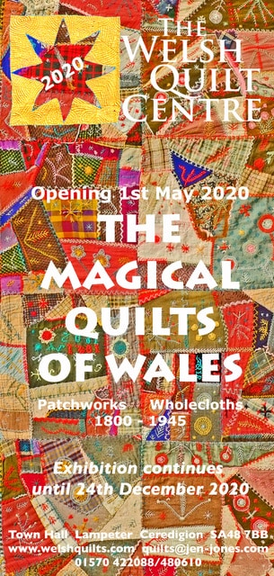 Flyer Front Magical Quilts of Wales