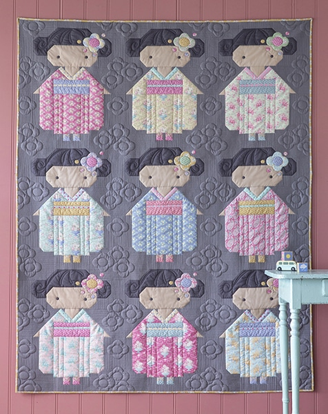 Kimono-Girls-Tone-Finnanger-Tilda__quiltmania_mars_avril_2020