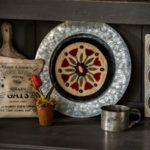 Flowering Folk Art – Dawn Heese – Fond d'assiette CAMEO – MeS1