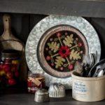 Flowering Folk Art – Dawn Heese – Fond d'assiette Cordial – MeS