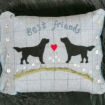 Jo-Colwill-Cowslip-Country-Quilts-Best Friends-Cushion