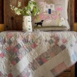 Jo-Colwill-Cowslip-Country-Quilts-Single Irish chain Baby quilt
